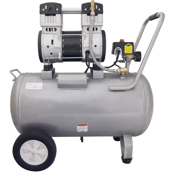 California Air Tools 15020C Air Compressor: 2.0 HP, 15.0 Gal. Steel Tank, Ultra Quiet, Oil-Free, Powerful (CLON)