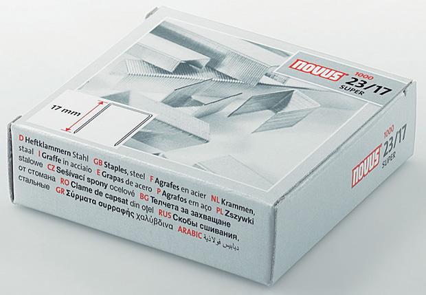 Dahle 23/17 Super-Premium Heavy Duty Staple: 17.0 mm Length