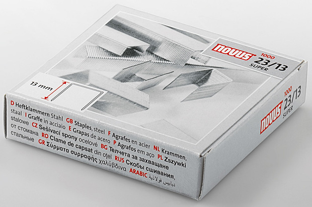 Dahle 23/13 Super-Premium Heavy Duty Staple: 13.0 mm Length