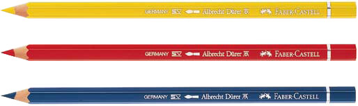 Faber-Castell Albrecht Durer Artists' Watercolour Pencil: Light Cadmium Red, Pack of 12