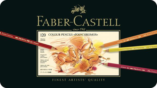 Polychromos Artists Colour Pencil: Tin of 120