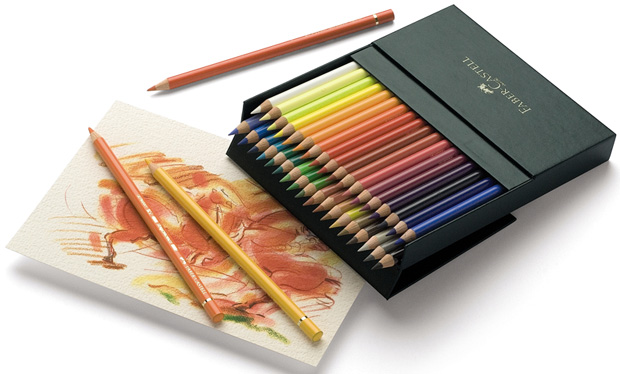 Polychromos Artists Colour Pencil: Studio Box of 36