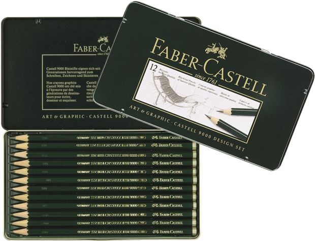 Faber-Castell 9000 Special Set