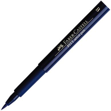 Faber-Castell PITT Artist Pen: Indianthrene Blue