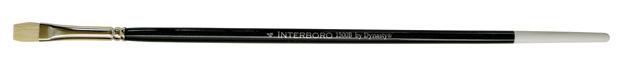 Dynasty Interboro Bristle Oil and Acrylic Brush: Bright, Size 4