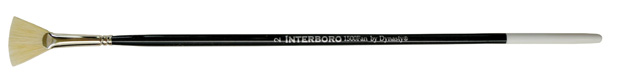 Dynasty Interboro Bristle Oil and Acrylic Brush: Fan, Size 2