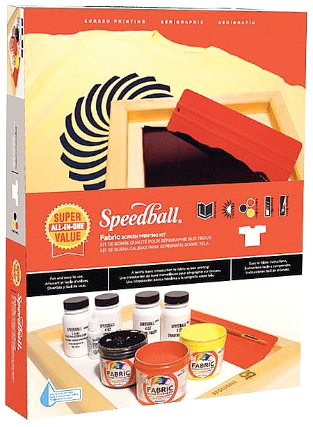 Speedball Super Value Screen Printing Kit