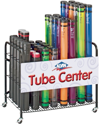 Plastic Mailing Tube Display Artist Supply Source