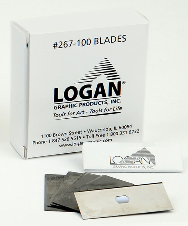 Logan 267-100 Blades: Pack of 100