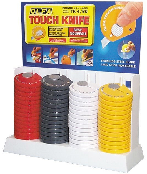 Alvin Olfa® Touch Knives Display