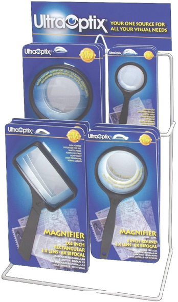 Alvin Ultra-Optix® Magnifiers Opticalqualty Display