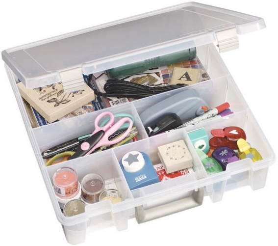 ArtBin Super Satchel Six Compartment Storage Box