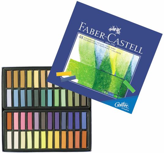 Alvin Faber-Castell® Creative Studio Soft Pastels 1/2 Stick 48/Set