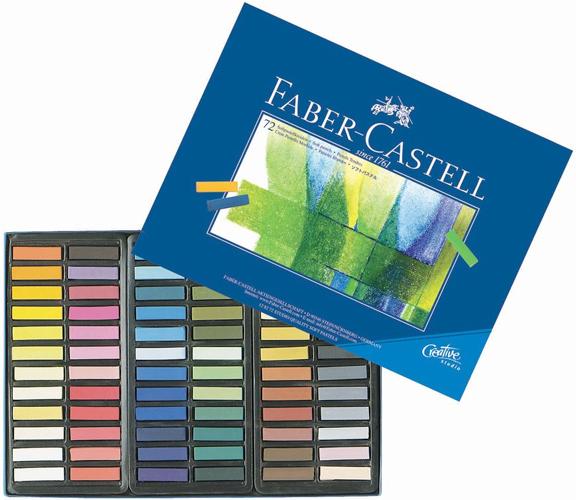 Alvin Faber-Castell® Creative Studio Soft Pastels 1/2 Stick 72/Set