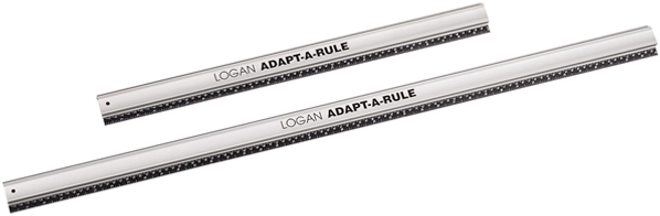 Logan Straight Edges Adapt-A-Rule 24inch