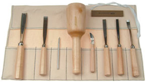 Sclupture House Wood Carving Set