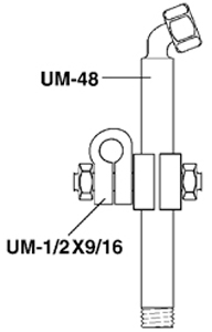 Paasche Mounting Assembly For A-JU Series Spray Gun Only