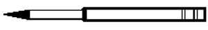 Paasche Carbide Needle