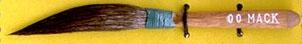 Mack Squirrel Hair Sword Striper Series 20: Width of Head 5.55 mm, Size - 00