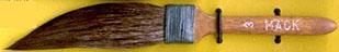 Mack Squirrel Hair Sword Striper Series 20: Width of Head 12.70 mm, Size - 3