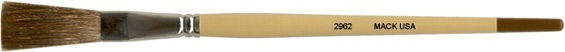 Mack One Stroke Series 2962: Length Out (trim) 1-1/2 inches, Size-1/2