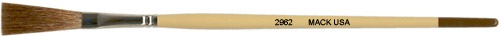 Mack One Stroke Series 2962: Length Out (trim) 1-1/8 inches, Size-1/8