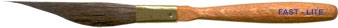 Mack Three Innovative Stripers Series F-L: Fast-Lite Pinstriping Brush, Size - 0