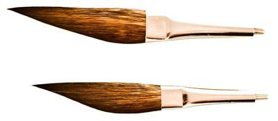 Mack Lazer Line Striping Brush Head Series LL-LLSBH: Size-000