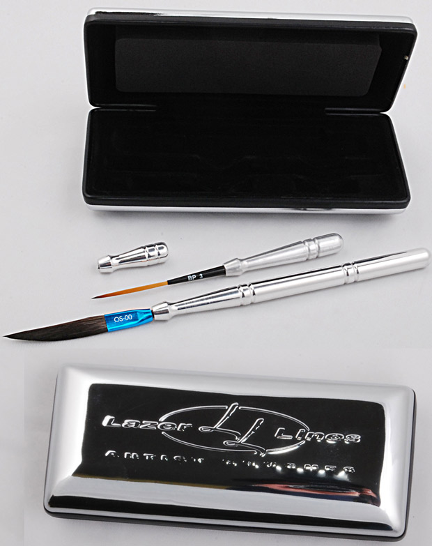 Mack Polished Aluminum Brush Kit Series LL-PABK