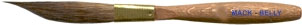 Mack Three Innovative Stripers Series M-B: Mack-Belly Pinstriping Brush, Size - 0