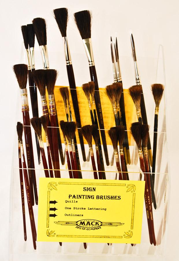 Mack Sign Brush Assortment Series SBA -18