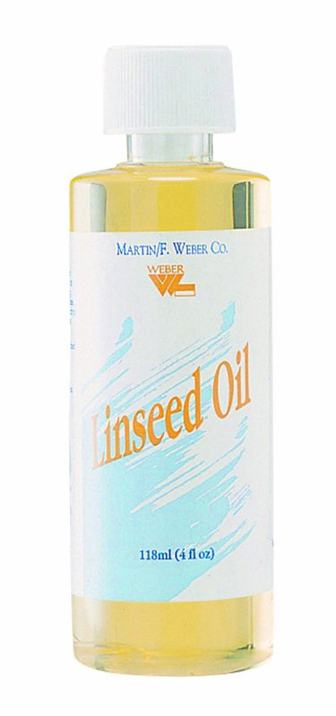 Weber Linseed Oil Refined: 118ml