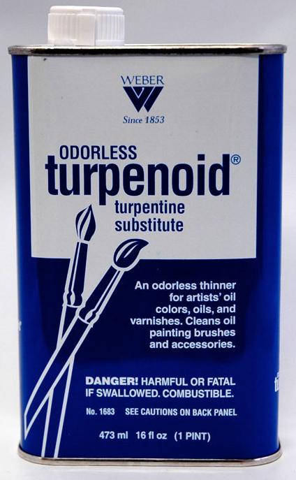 Weber Odorless Turpenoid: 473ml
