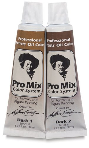 John Howard Sanden Pro Mix Oil Color Dark 1: 37ml, Tube