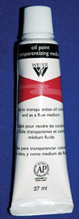 Weber Oil Painting Transparentizing: Medium, 37ml, Tube