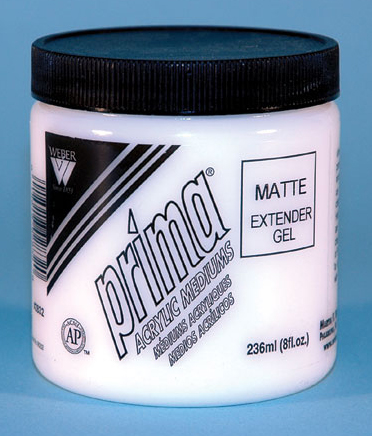 Prima Acrylic Gel Medium - Matte: 236ml, Jar