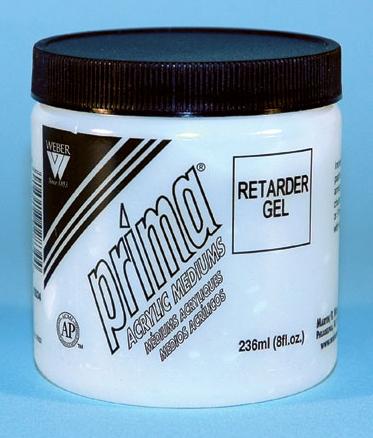Prima Acrylic Gel Medium - Retarder: 236ml, Jar