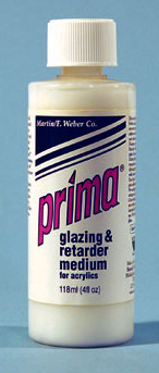 Pima Acrylic Liquid Glazing/Retarder Medium: 118ml, Bottle