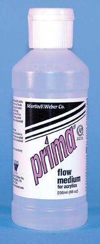 Prima Acrylic Flow Medium: 236ml, Bottle