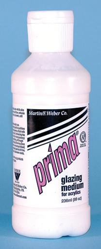 Prima Acrylic Liquid Glazing Medium: 236ml, Bottle