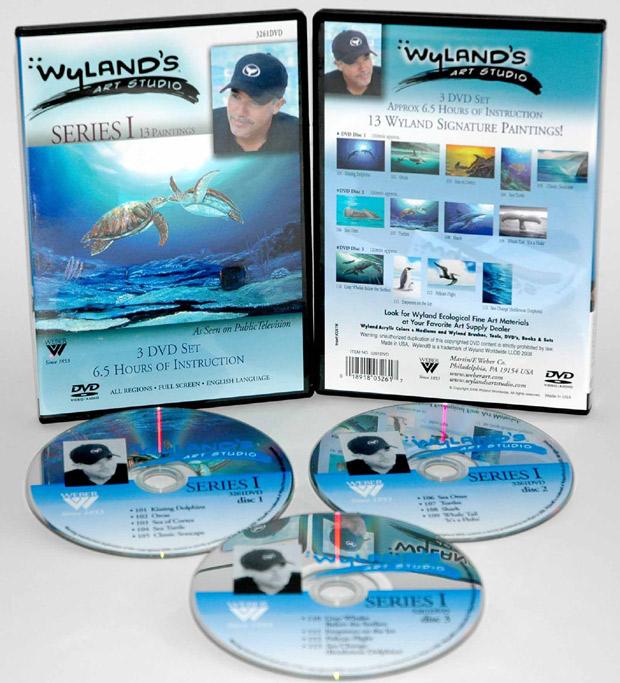 Wyland Art Studio DVD:13 Episodes, Series 1