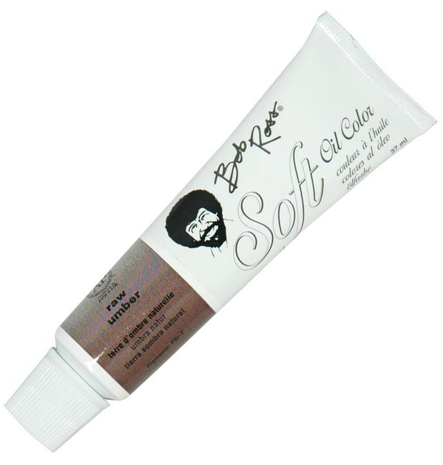 Bob Ross Soft Oil Color Raw Umber: 37ml, Shell