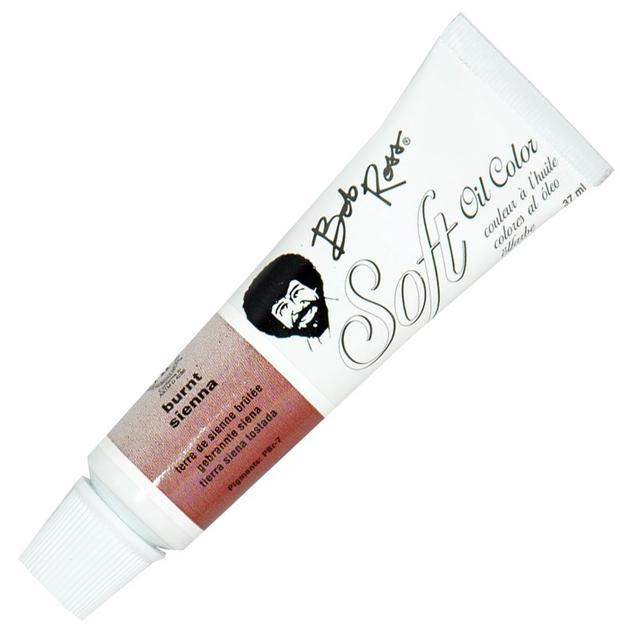 Bob Ross Soft Oil Color Burnt Sienna: 37ml, Shell