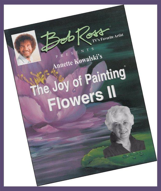 Bob Ross Joy of Painting Flowers Book: Book 2