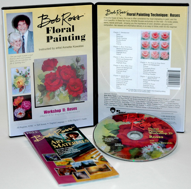 Ross DVD Floral Painting Workshop II: 2 Hour