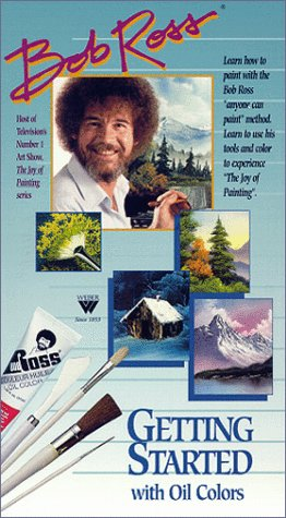 Bob Ross DVD: Getting Started (1 Hour)