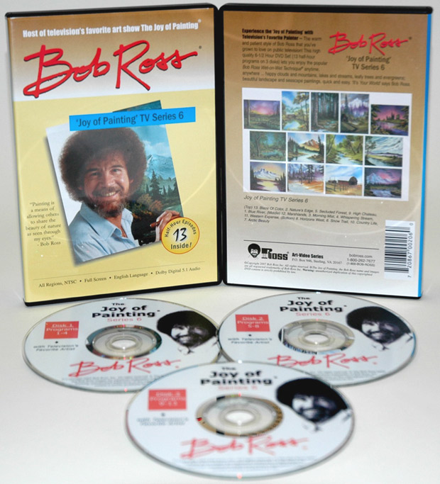Ross DVD: Joy Of Painting Series 6, Featuring 13 Shows