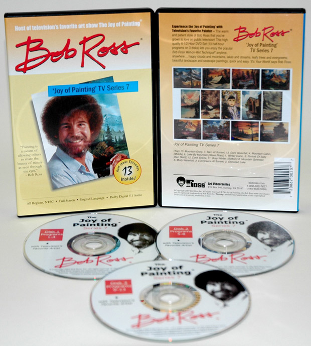 Ross DVD: Joy Of Painting Series 7, Featuring 13 Shows