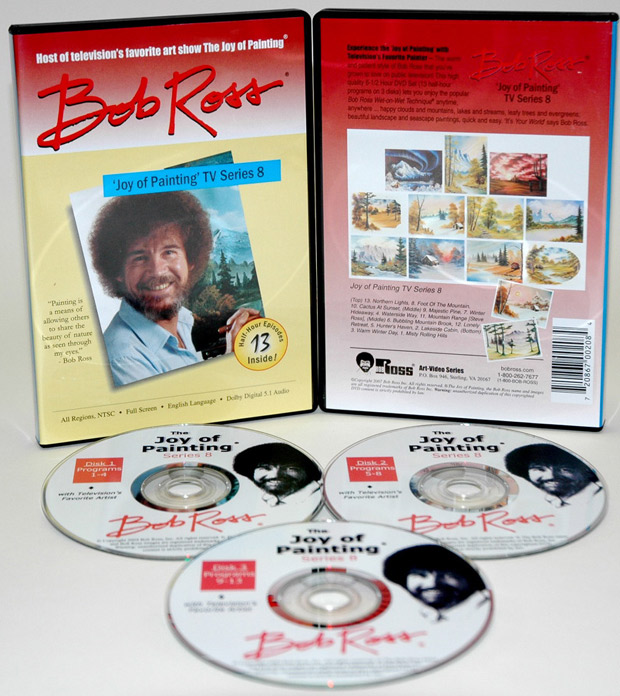 Ross DVD: Joy Of Painting Series 8, Featuring 13 Shows