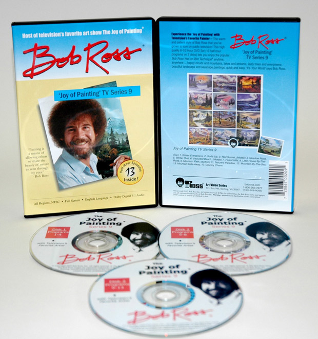 Ross DVD: Joy Of Painting Series 9, Featuring 13 Shows
